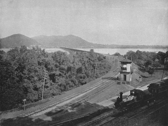 'The Susquehanna River', 19th century-Unknown-Photographic Print