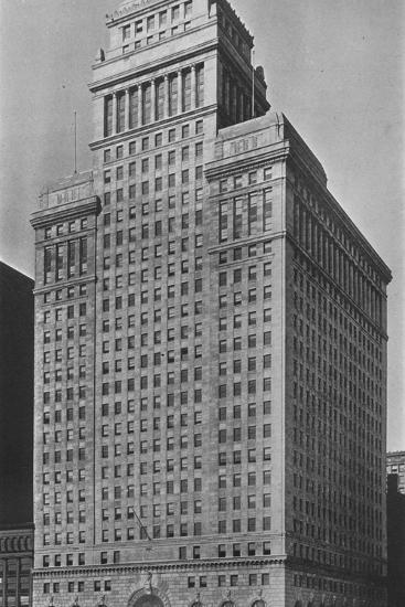 The SW Straus & Co Building, Chicago, Illinois, 1924-Unknown-Photographic Print