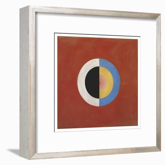 The Swan, No.17, Group Ix/Suw, 1914-5-Hilma af Klint-Framed Giclee Print