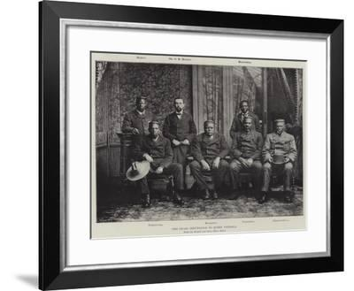 The Swazi Deputation to Queen Victoria--Framed Giclee Print