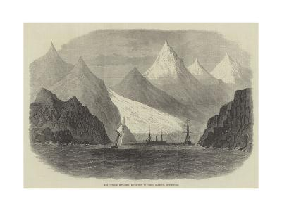 The Swedish Exploring Expedition at Green Harbour, Spitzbergen--Giclee Print