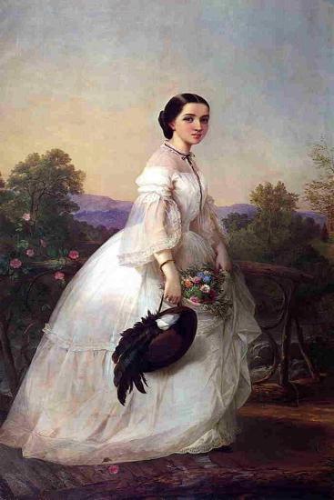 The Swedish Singer Jenny Lind, C.1852-Louis Lang-Giclee Print