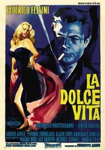 "The Sweet Life, 1960 ""La Dolce Vita"" Directed by Federico Fellini"