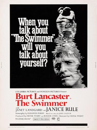 The Swimmer--Art Print