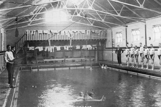 The Swimming Bath, Royal Navy Training Establishment, Shotley, Suffolk, 1936--Giclee Print
