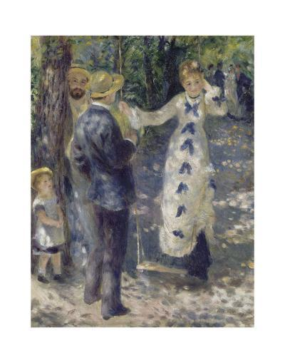 The Swing, 1876-Pierre-Auguste Renoir-Art Print