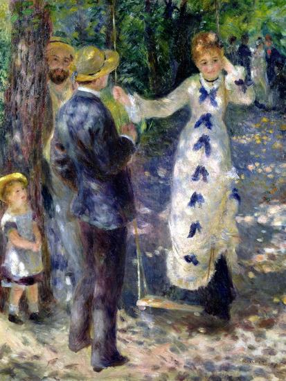 The Swing, 1876-Pierre-Auguste Renoir-Premium Giclee Print