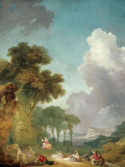 The Swing, Ca. 1765-Jean-Honor? Fragonard-Giclee Print