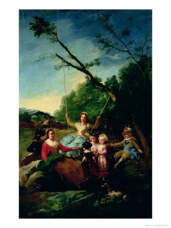 The Swing-Francisco de Goya-Giclee Print
