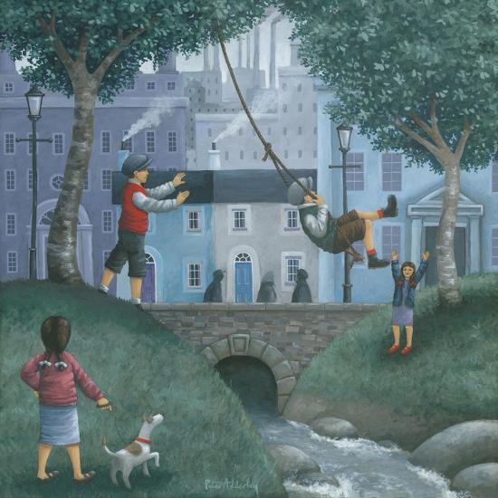 The Swing-Peter Adderley-Art Print