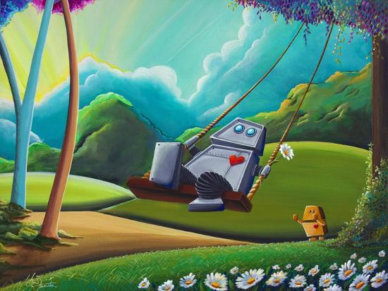 The Swing-Cindy Thornton-Art Print