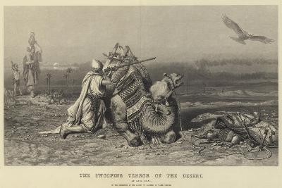 The Swooping Terror of the Desert-Carl Haag-Giclee Print