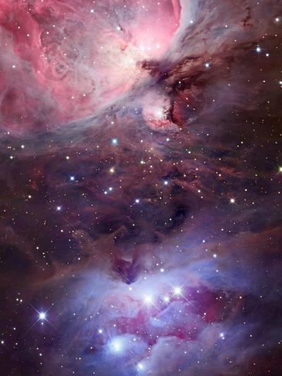 The Sword Region of the Constellation Orion, the Hunter-Robert Gendler-Photographic Print