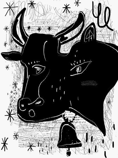 The Symbolic Image of a Cow-Dmitriip-Art Print