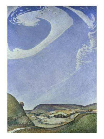 The Sympathy of Land and Sky-Edward Reginald Frampton-Giclee Print