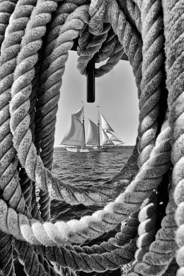 The Taber, the Oldest Documented Sailing Vessel in Continuous Service in the United States-Kike Calvo-Photographic Print