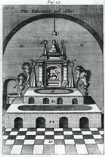 The Tabernacle and Altar--Giclee Print