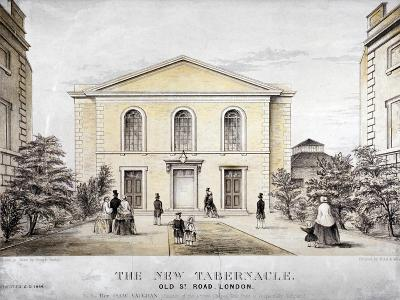 The Tabernacle, Old Street, Finsbury, London, C1850-Ford and West-Giclee Print