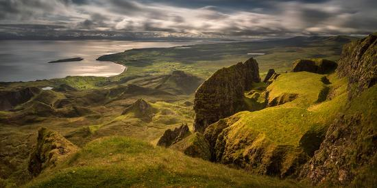 The Table in Quiraing at Trotternish Ridge, Isle of Skye, Scotland--Photographic Print