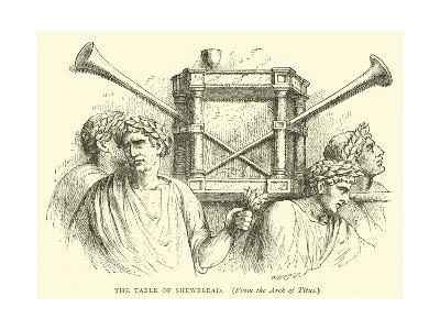 The Table of Shewbread--Giclee Print