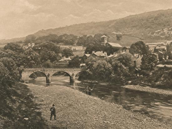 'The Taff at Treforest, near Pontypridd', 1902-Unknown-Photographic Print