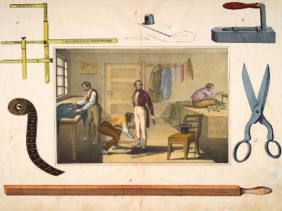 The Tailor, C.1845--Giclee Print