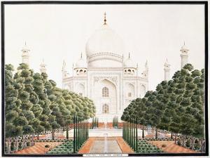 The Taj from the Garden, C. 1815