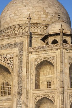 The Taj Mahal, a Mausoleum Built in Memory of Shah Jahan's Third Wife-Jonathan Irish-Photographic Print