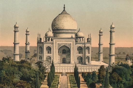 'The Taj Mahal at Agra', c1895, (1904)-Unknown-Giclee Print