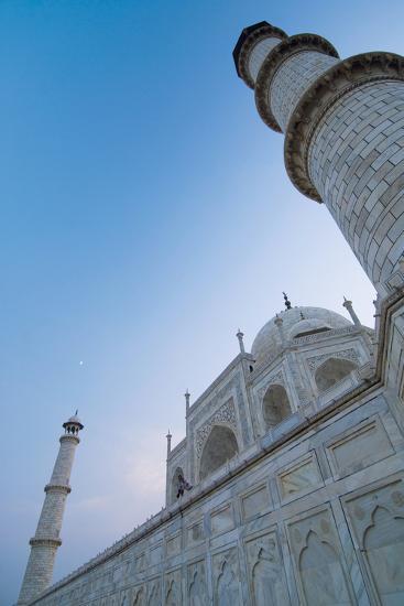 The Taj Mahal at Dusk, Low Angle View-Design Pics Inc-Photographic Print