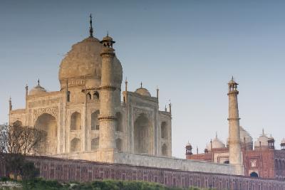 The Taj Mahal Seen from the Banks of the Yamuna River-Jonathan Irish-Photographic Print
