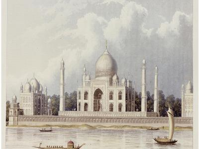 The Taj Mahal, Tomb of the Emperor Shah Jehan and His Queen, circa 1824-Charles Ramus Forrest-Giclee Print