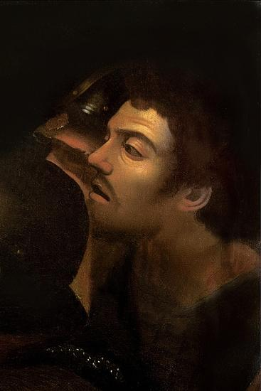 The Taking of Christ (Detail)-Caravaggio-Giclee Print