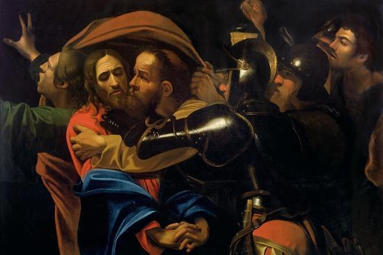 The Taking of Christ-Caravaggio-Giclee Print