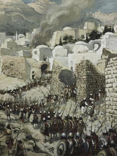 The Taking of Jericho-James Tissot-Giclee Print