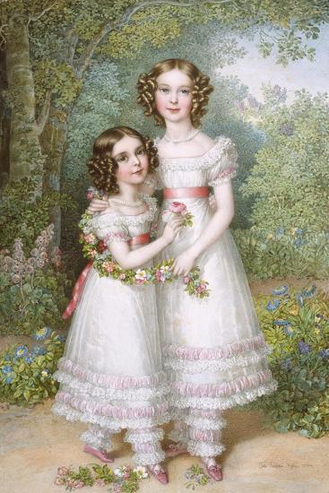 The Talbot Sisters-Johann Nepomuk Ender-Giclee Print
