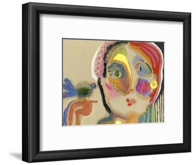 The Talker-Wyanne-Framed Giclee Print