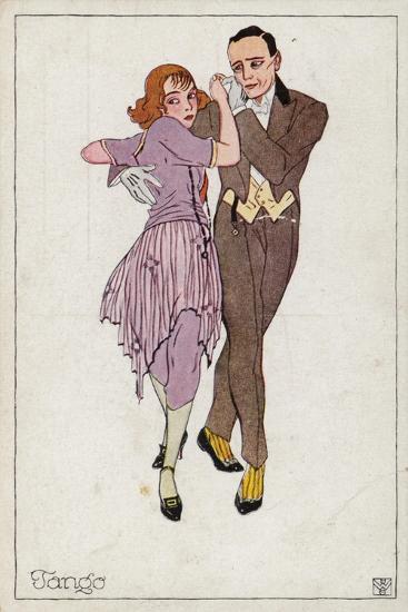 The Tango--Giclee Print