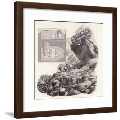The Tank, First Used During the Great War-Pat Nicolle-Framed Giclee Print
