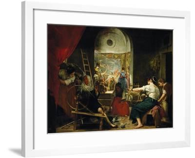 The Tapestry Weavers or the Fable of Arachne-Diego Velazquez-Framed Giclee Print