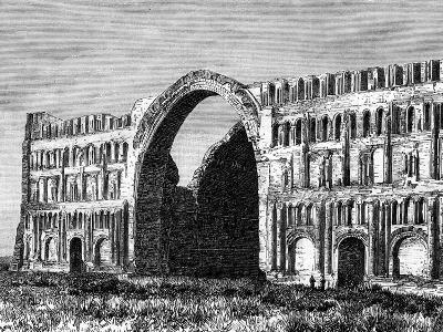 The Taq-I Kisra, Ctesiphon, Iraq, 19th Century--Giclee Print