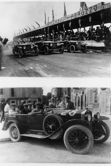 The Targa Abruzzo Race, Pescara, Italy, 1926--Photographic Print