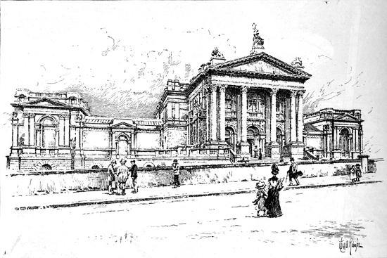The Tate Gallery (National Gallery of British Art), 1906-Unknown-Giclee Print
