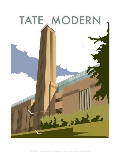 The Tate Modern - Dave Thompson Contemporary Travel Print-Dave Thompson-Art Print