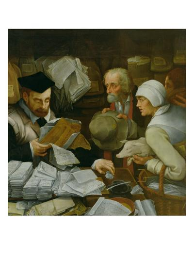 The Tax Collector, 1543-Paul Vos-Giclee Print