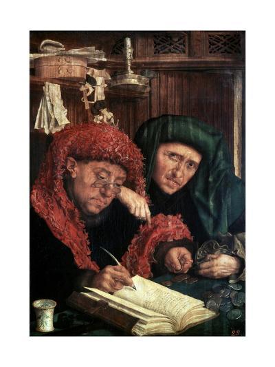 The Tax Collectors, Between 1490 and 1567-Marinus Van Reymerswaele-Giclee Print