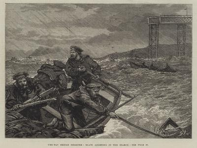 The Tay Bridge Disaster, Boats Assisting in the Search--Giclee Print
