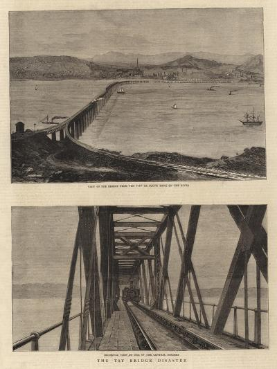 The Tay Bridge Disaster--Giclee Print