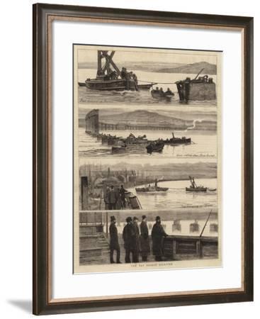 The Tay Bridge Disaster--Framed Giclee Print