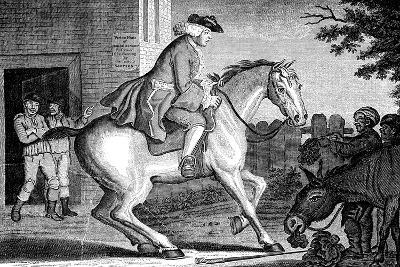 The Taylor Riding to Brentford, 1768-TS Stayner-Giclee Print